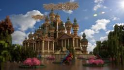Spawn ¤Evoria¤ Megabuild By Smaqi Production [DOWNLOAD] Minecraft Map & Project
