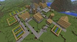 All Village Structures Minecraft Map & Project