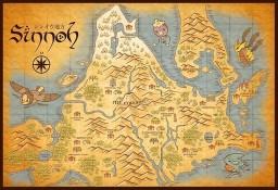 Sinnoh Region - Beta Version Minecraft Map & Project