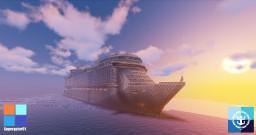 Liberty of the Seas Cruise Ship - 1:1 Scale Replica - Full Interior (1.13+) Minecraft Map & Project