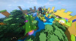 SuperSonic - Parkour Race Minecraft Map & Project