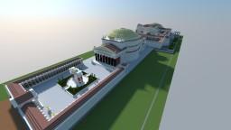 Roman Pantheon w Baths of Agrippa Minecraft Map & Project