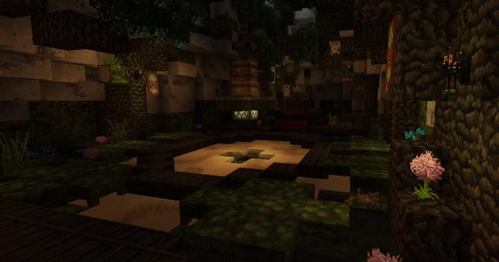 Chief's House screenshot interior