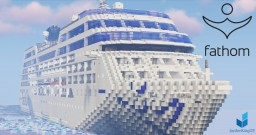 Fathom Adonia [1.25:1 Scale - Replica - FIRST EVER - Full Interior! - 1.13.1] Minecraft Map & Project