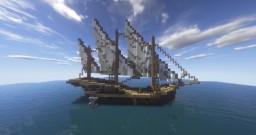Merchant Ship - Xebec Minecraft Map & Project