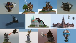 Fantasy Collection Minecraft Map & Project