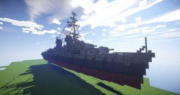 USS GEARING (DD710) Minecraft Map & Project
