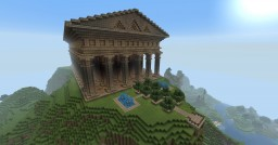 Temple of Athena Minecraft Map & Project