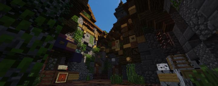 The brick streets of Petram