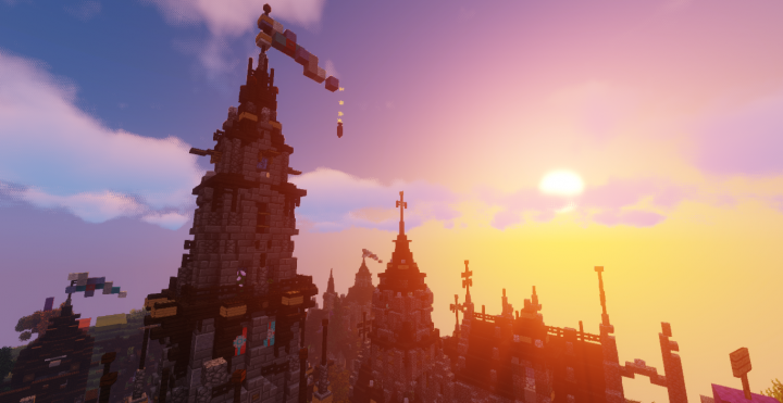 Probably the most beautifull sunset over the town St.Falkor