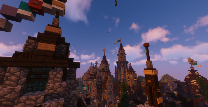 An amazing view of the town St.Falkor