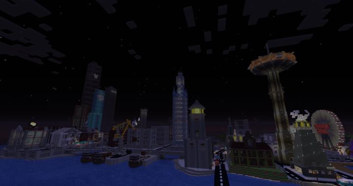 Gotham Skyline