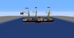 Armored Frigate , Admiral Cochrane Minecraft Map & Project