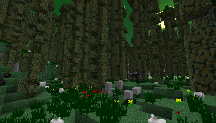 The Infested Biome with structures!