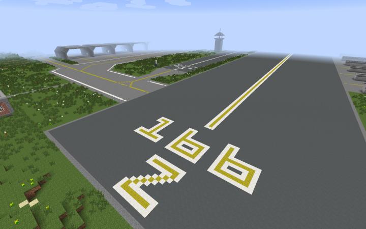 East end of Runway 166 Z