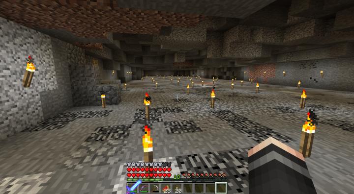 Popular Server Project : Underground Area