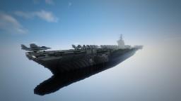 Fictional aircraft carrier - LRR Aurora Minecraft Map & Project