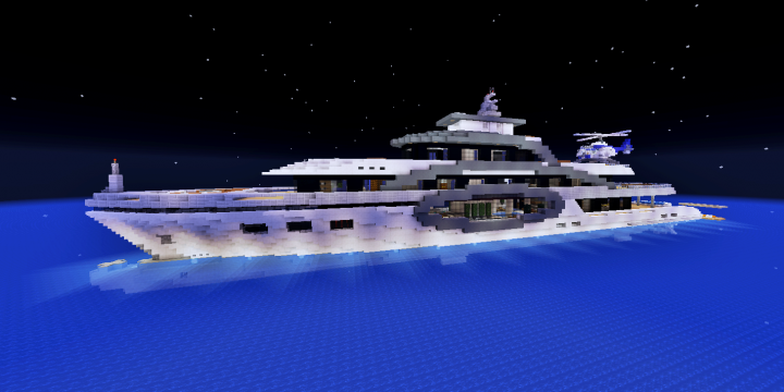 Popular Server Project : Superyacht Wave [full interior + download]