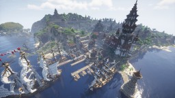 Legends of Valeros - Official PMC Post Minecraft Map & Project