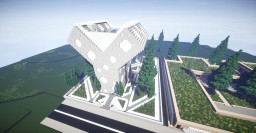 Y-House - A Futuristic House ! Minecraft Map & Project