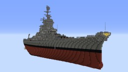 Fictional Battleship ZBB-Project A3 Minecraft Map & Project