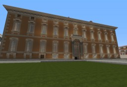 """Palace of the """"Upper Chamber"""" of the Kingdom of Latin people. Minecraft Map & Project"""