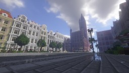Old Square of Montleur (based on Długi Targ from Gdańsk/Danzig) Minecraft Map & Project