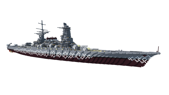 The Mikawa-class are quintessential Japanese battleships - heavily armed, surprisingly fast, and well-armoured. Unable to match the industrial output of its potential adversaries, the Japanese Navy focused on quality as a way to beat quantity.