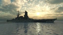 Fictional Japanese Battleship - 三河 (Mikawa) Minecraft Map & Project
