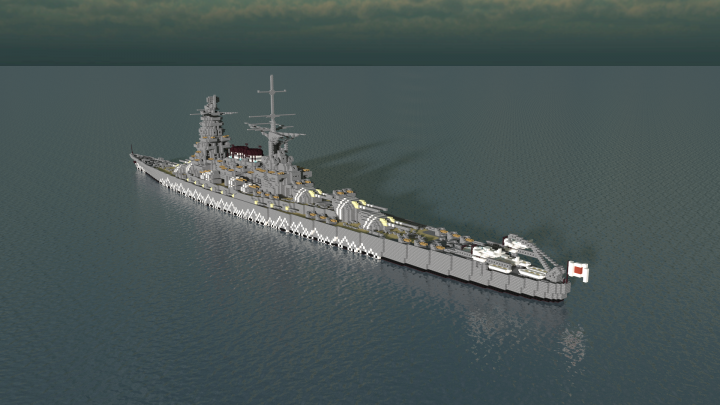 The lineage of the Mikawa-class can be traced - through the ships of the 8-8 Fleet Plan and the Ise and Fuso classes - all the way back to the Kongo-class battlecruisers, Japan's first modern dreadnoughts.