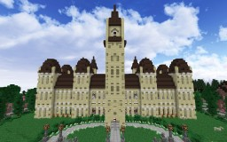 Canadian Parliament Minecraft Map & Project