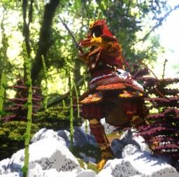 武士 The Epic Samurai 武士 Minecraft Map & Project