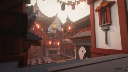 ☯ Shaolin Temple Training Grounds ☯ Minecraft Map & Project