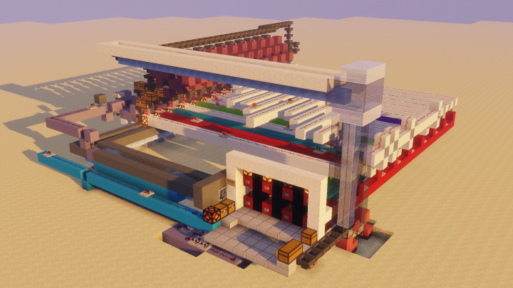 Automatic Multishop Minecraft Project
