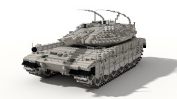 Merkava Mk. IV   |   10:1 Scale Tank Minecraft Map & Project