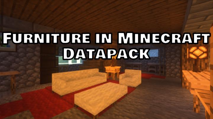 Furniture For Minecraft Minecraft Data Pack
