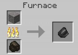 Gravel2Flint Smelting Recipe Minecraft Data Pack