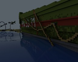 Omaha Beach - Normandy Invasion ~ WW2 Higgins Transport Craft Minecraft Map & Project