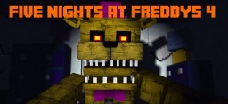 Five Nights at Freddy´s 4 MAPA Minecraft Map & Project