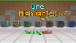 Ore Highlighter 1.12 Minecraft Texture Pack