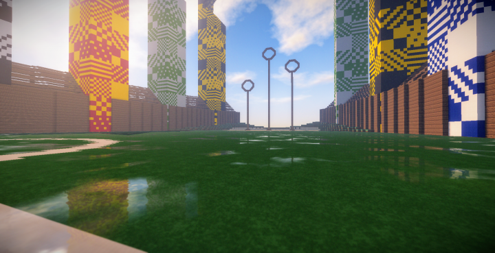 Play Quidditch in full seasons with your House team to claim the Quidditch Cup