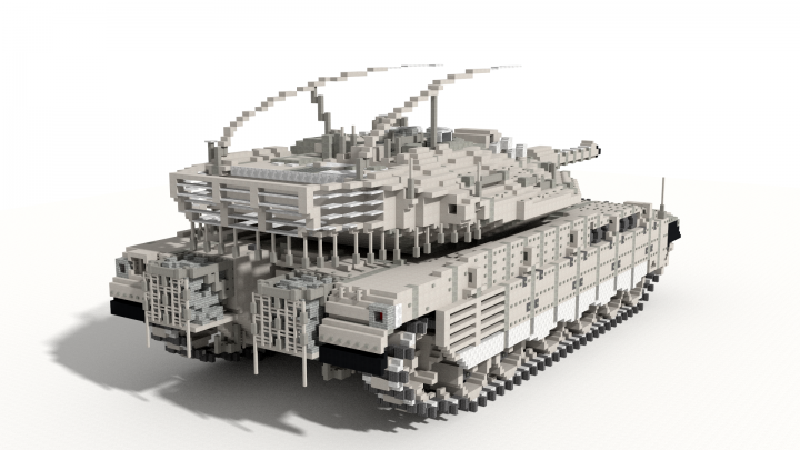 merkava mk iv 10 1 scale tank minecraft project. Black Bedroom Furniture Sets. Home Design Ideas