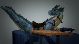 Aquatic Dragon- A Welcome Surprise Minecraft Map & Project