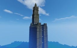 Woolworth Building 1:1, NYC Minecraft Map & Project