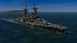 USS Indianapolis (CA-35) Minecraft Map & Project