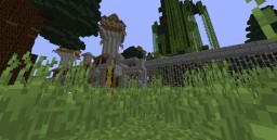 Massive Abandoned Haunted Mansion Minecraft Map & Project