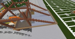 NFL Stadium build in Greenfield SinglePlayer Minecraft Map & Project