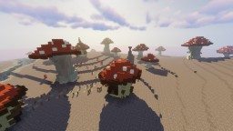 Mushroom Island Village [-=MadeByMirajone=-} Minecraft Map & Project