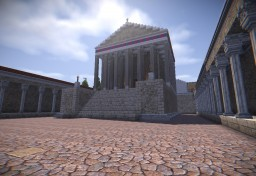 Cesarion a Roman Town Minecraft Map & Project