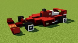 Ferrari Formula 1 Racing Car Minecraft Map & Project